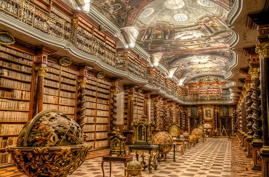 η-klementinum-εθνικό-βιβλιοθήκη-Τσεχικής Δημοκρατίας-1