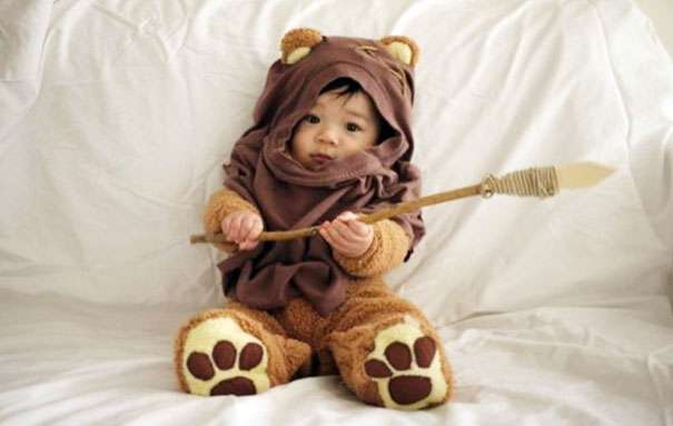 Cutest Ewok Ever