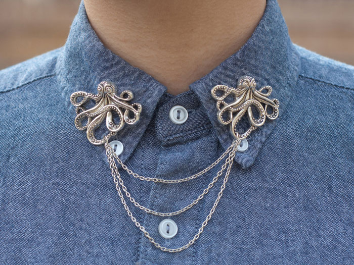 Octopus Collar Clip