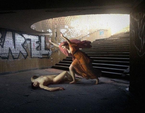 -city-pintura clásica-moderna-vida-dioses diarias-alexey-Kondakov-9