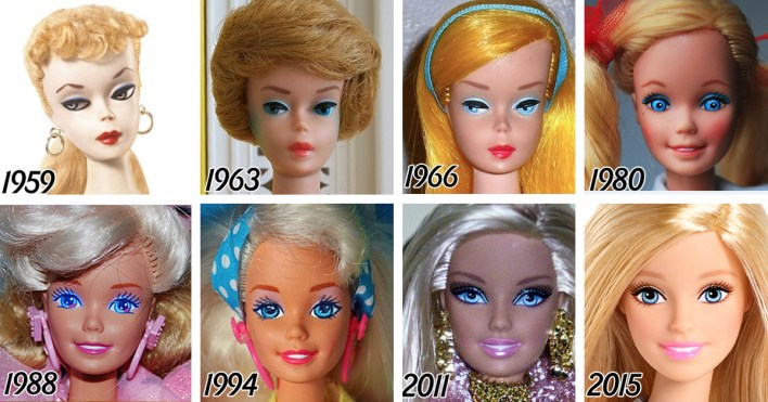 Image result for barbie 60 years