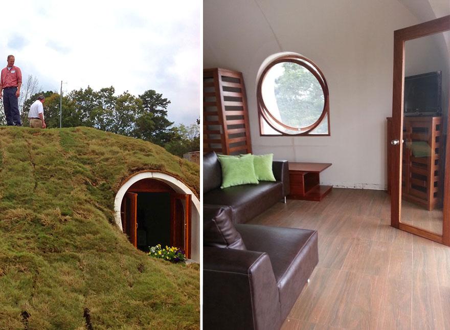 hobbit-buracos-eco-friendly-Casas-verde-mágicos casas-26