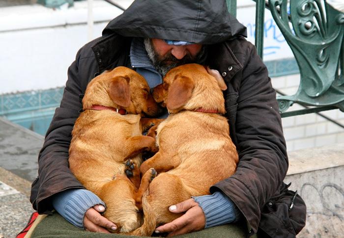 Sleeping Beggars