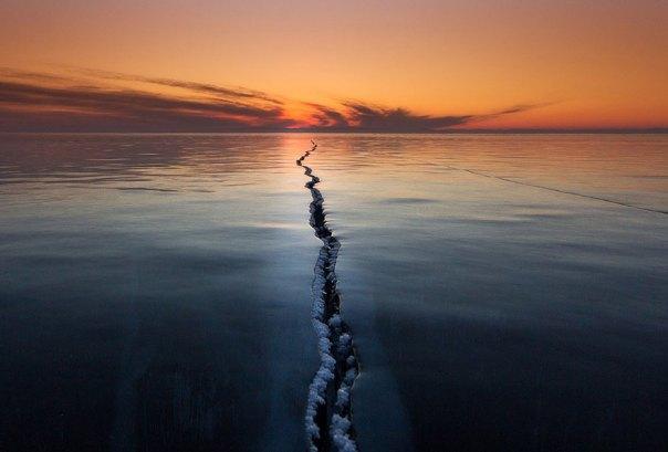 Descifrando la superficie, el lago Baikal