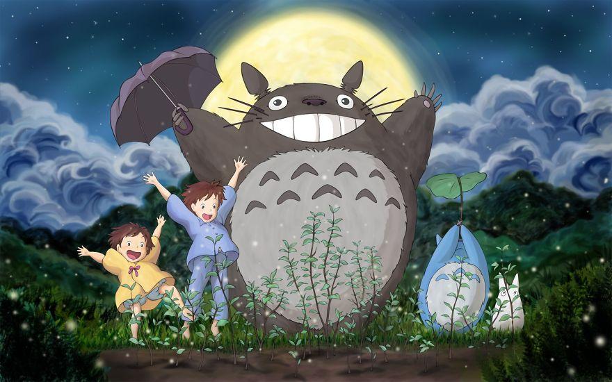 Γείτονας Totoro μου