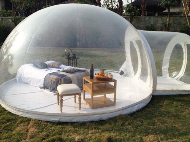 This Transparent Bubble Tent Lets You Sleep Underneath The Stars
