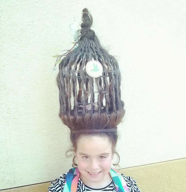 14 Of The Best Crazy Hair Day Dos Ever Bored Panda