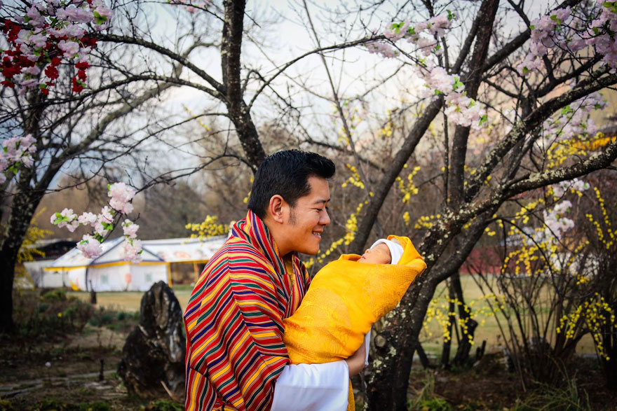 bhutan-prince-plants-trees-jetsun-pema-1