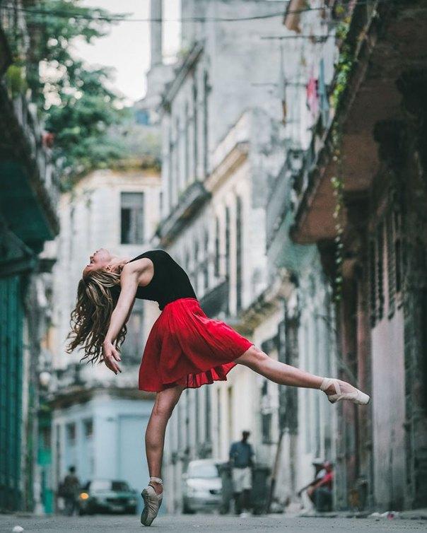 Bailarines de ballet
