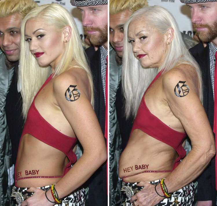 Gwen Stefani By Grumplebits