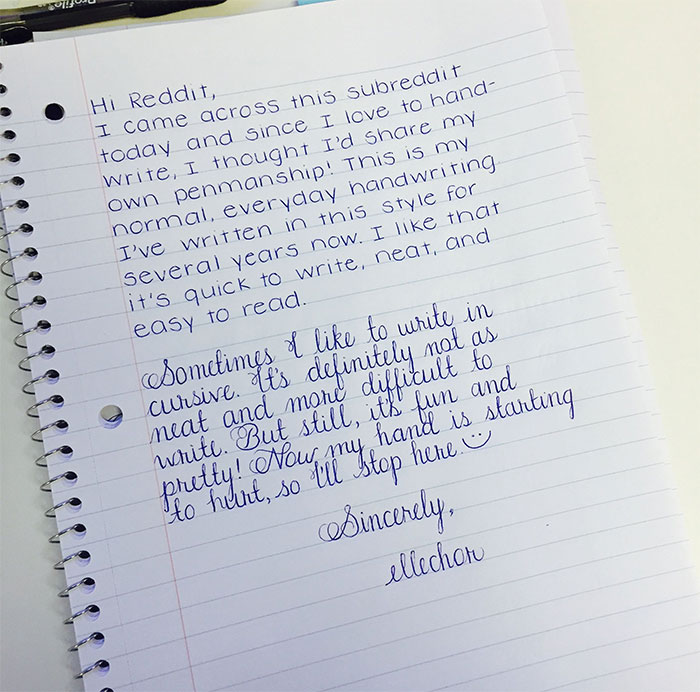 Beautiful Handwriting