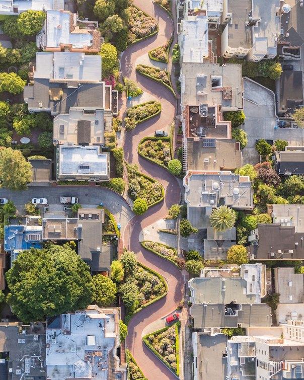 Lombard Street, San Francisco, Estados Unidos