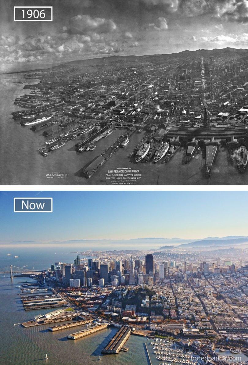how famous city changed timelapse evolution before after 5 5774de1aa7c21  880 - Evolução das metrópoles do mundo
