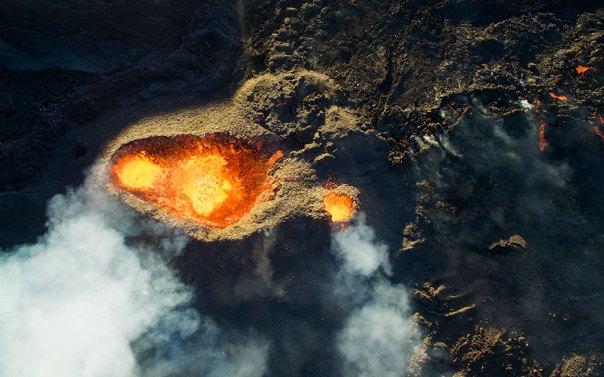 3er Premio Ganador - Categoría fauna de la naturaleza: Piton de la Fournaise, Volcán