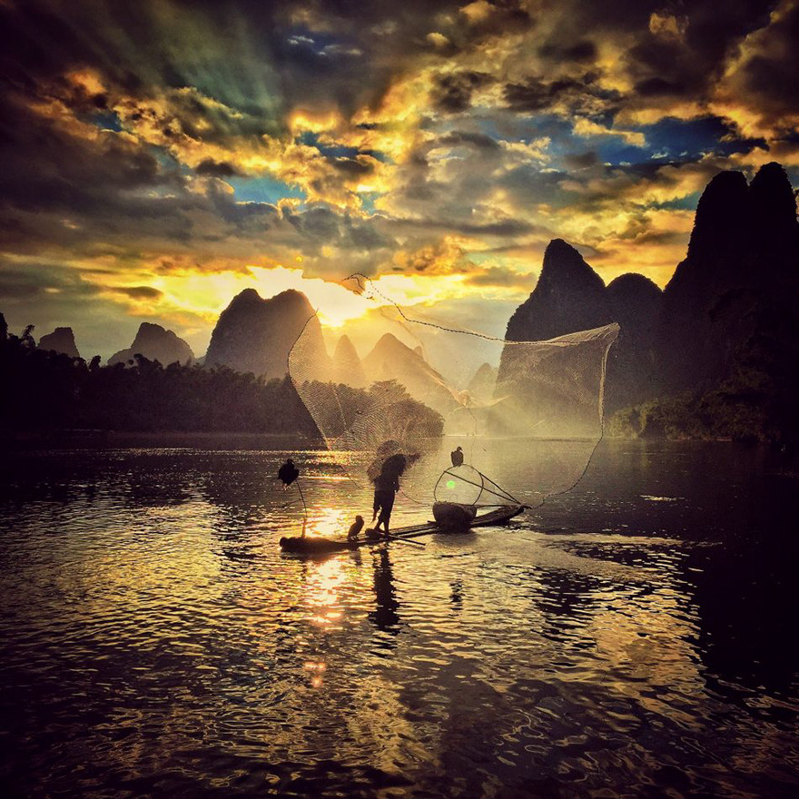 Yongmei Wang Από Chongqing, Κίνα, 2η Θέση, Sunset