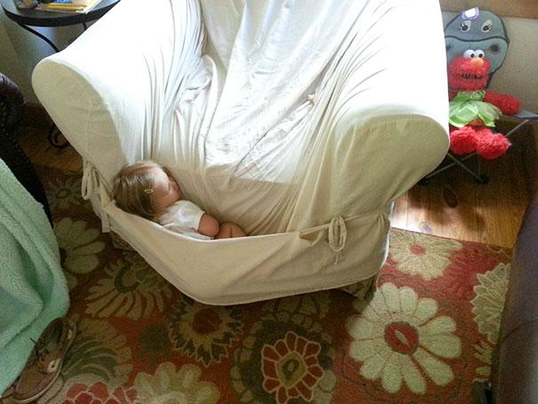 Napping Like A Kanagroo's Baby