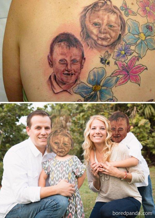 tattoo face swaps