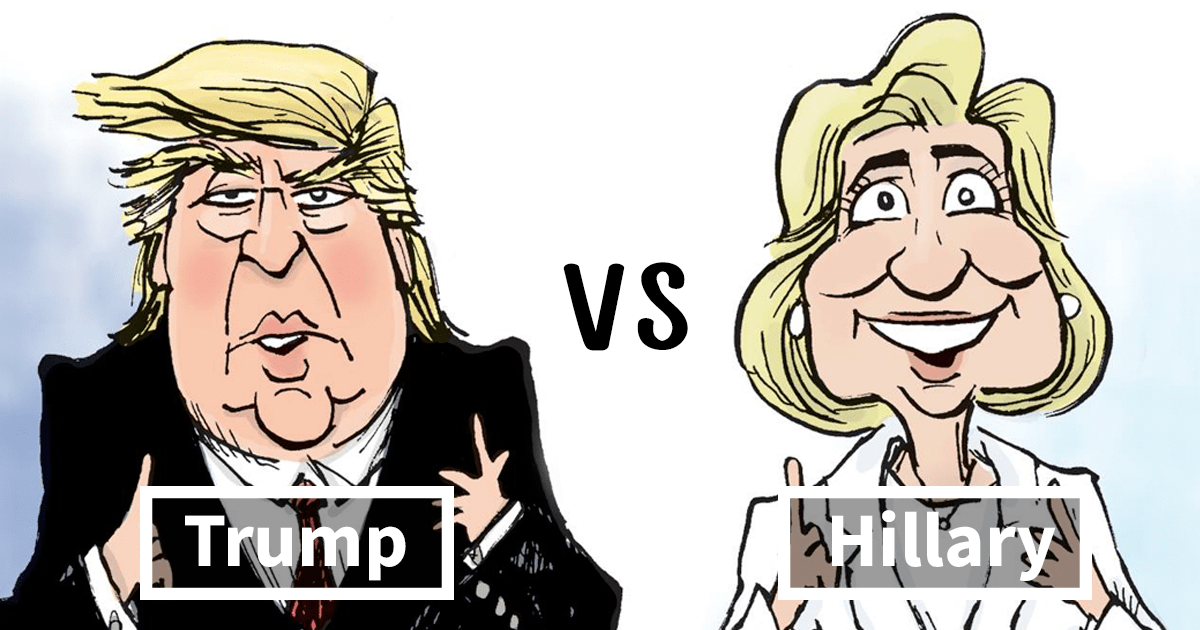 The Difference Between Trump And Clinton Summed Up In One