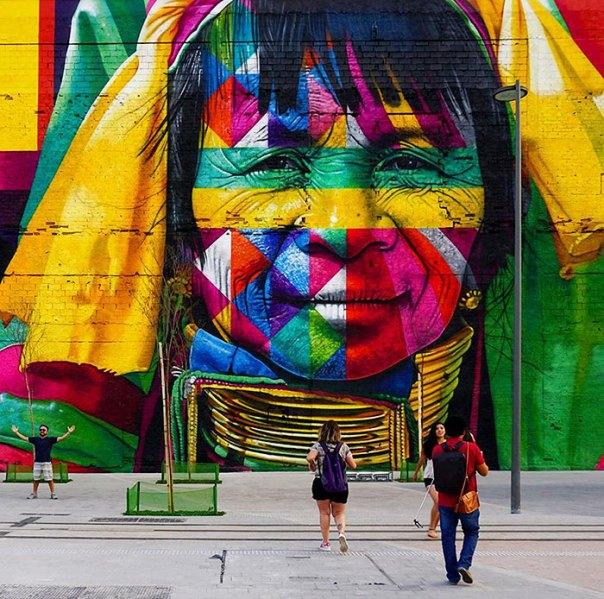mundo más grande-mural-calle-arte-las-Etnias-the-etnias-eduardo-Kobra-rio-olimpiadas-brasil-10