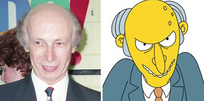 Mr. Burns From The Simpsons