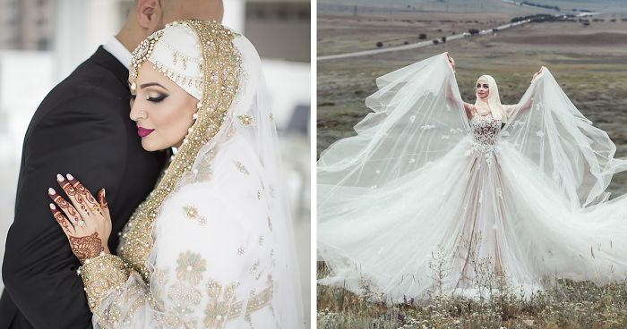 10+ Brides Wearing Hijabs On Their Big Day Look Absolutely