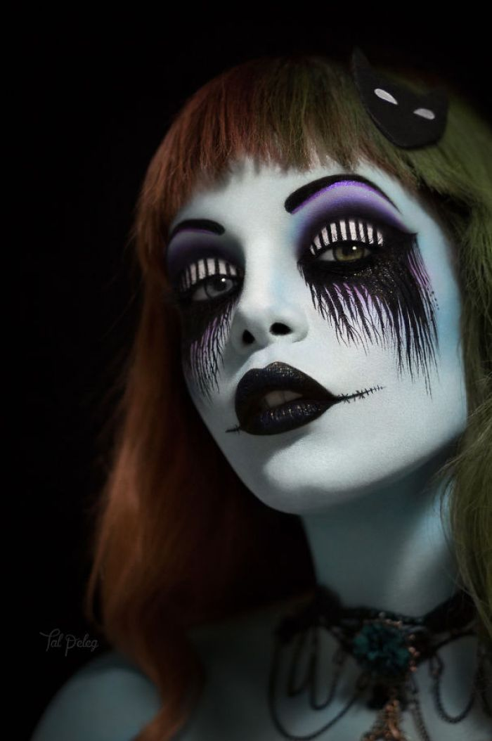 You Can Go Full Face Like This Tim Burton Inspired Look