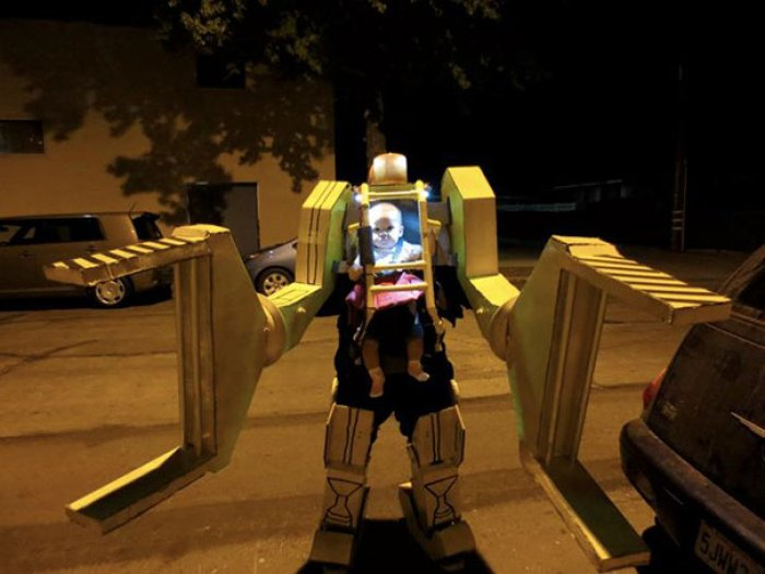 Power-Loader Baby And Dad Costume