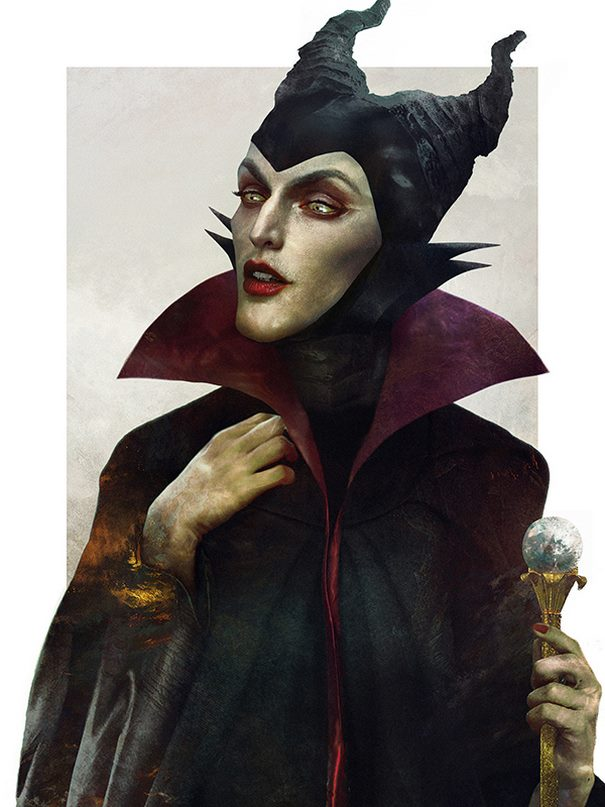 Maleficent From The Sleeping Beauty