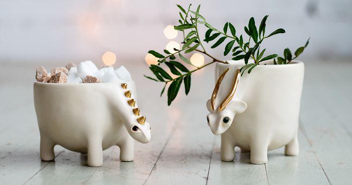 Ceramic Animal Figurines