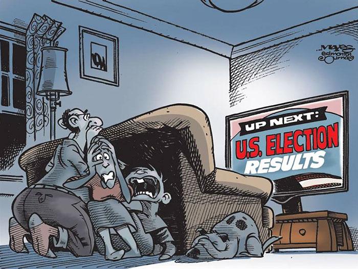 Trump Caricature