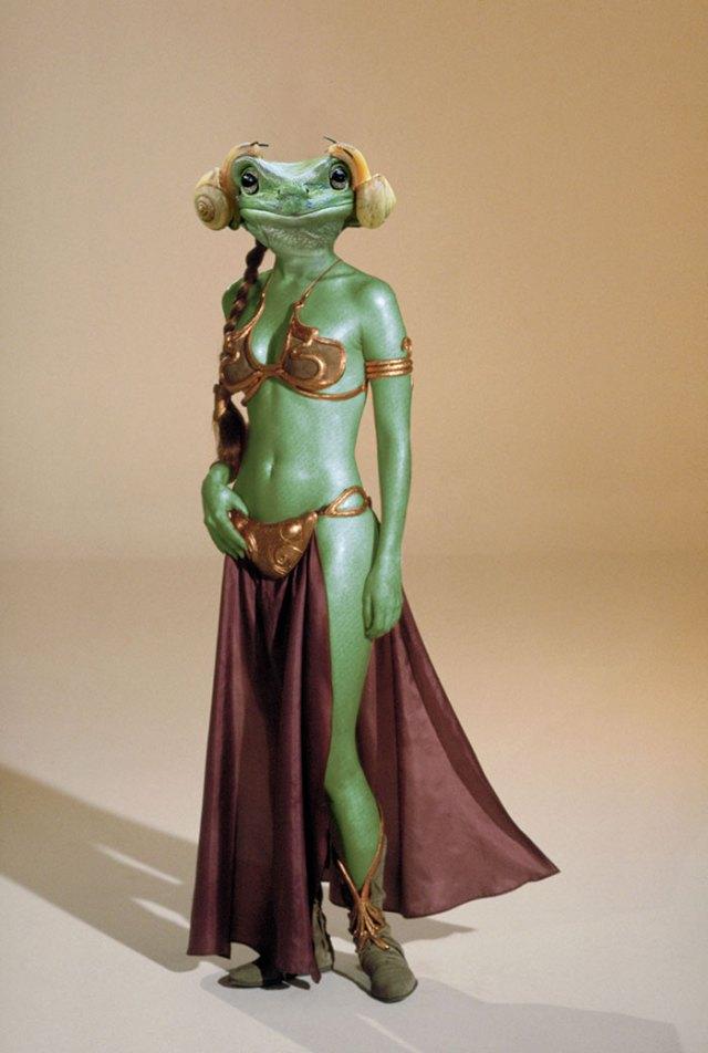 Slave Frog Leia