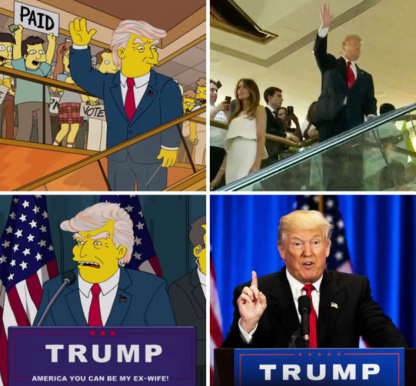 The Simpsons Predicted Trump For President Way Back In 2000