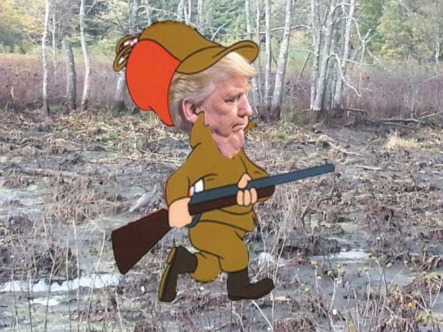shhhh.... we're dwaining da swamp