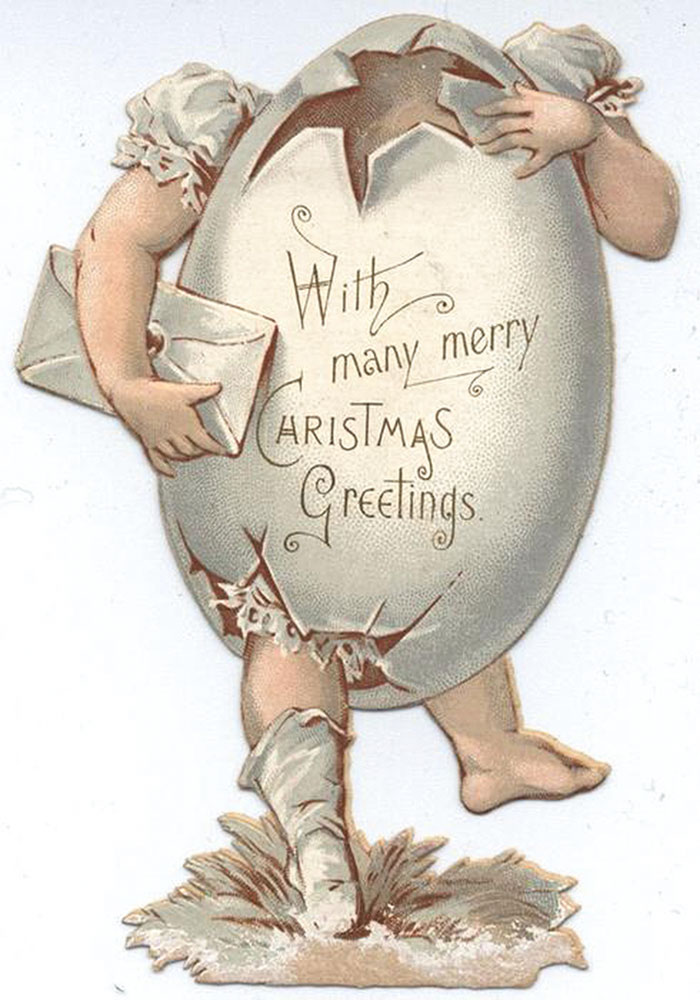 57 Victorian Christmas Cards That Are As Creepy As Those