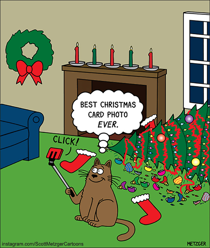Discover and share christmas jokes and quotes. 125 Of The Funniest Christmas Comics Ever Bored Panda