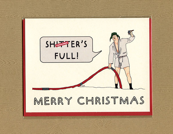 10 Hilariously Rude Christmas Cards For People With A