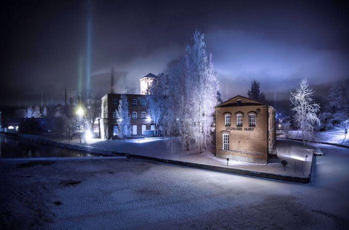 Colonne Light In Finlandia