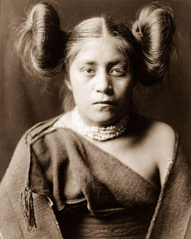 A Tewa girl, 1906
