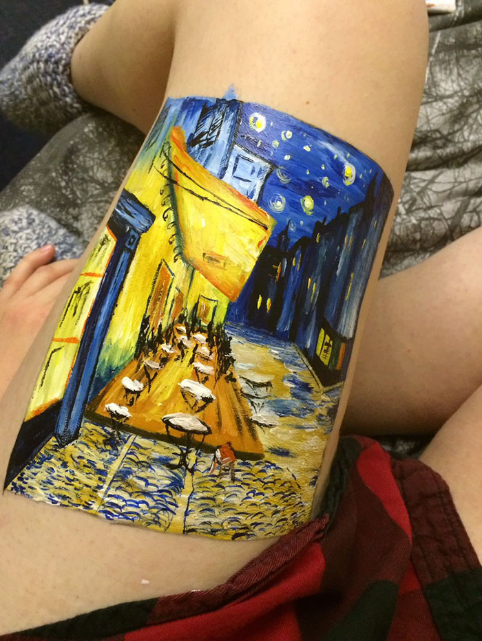 teen-recreate-painting-leg-amelia-hall-2