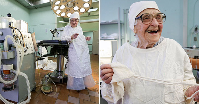 Meet The World's Oldest Surgeon Who Is 89 Years Old And Still Performs 4 Operations A Day
