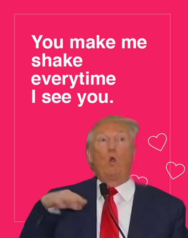 10+ Donald Trump Valentine's Day Cards Are Going Viral ...