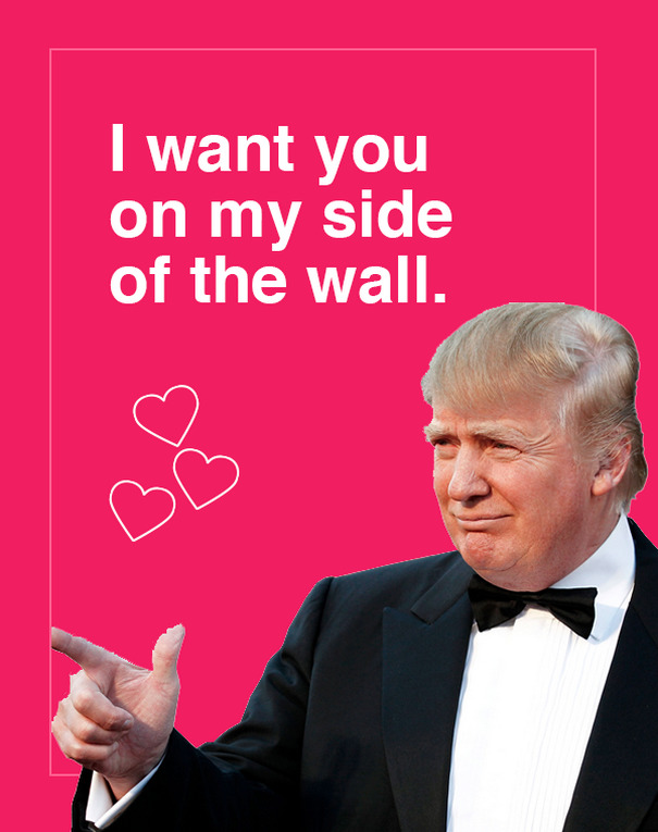 10 Donald Trump Valentines Day Cards Are Going Viral