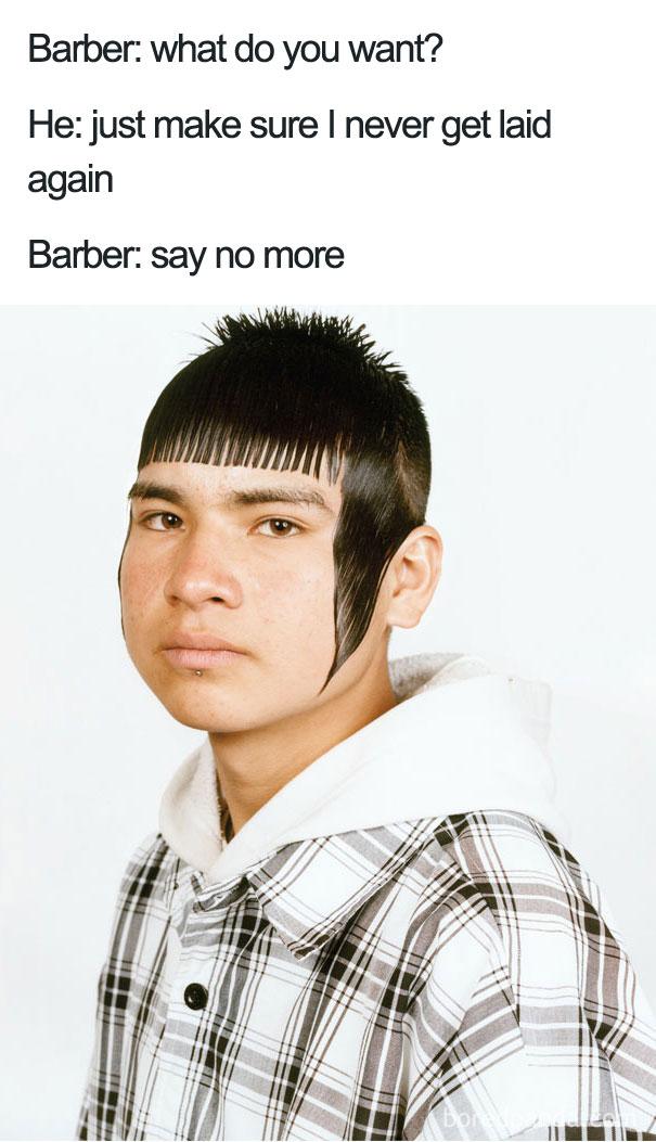 Say No More Haircut