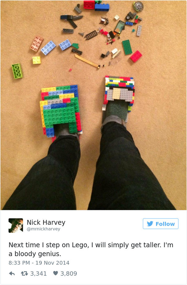 Image of: Puns 1 Im Lego Genius Bored Panda 50 Of The Funniest Lego Jokes Ever Bored Panda