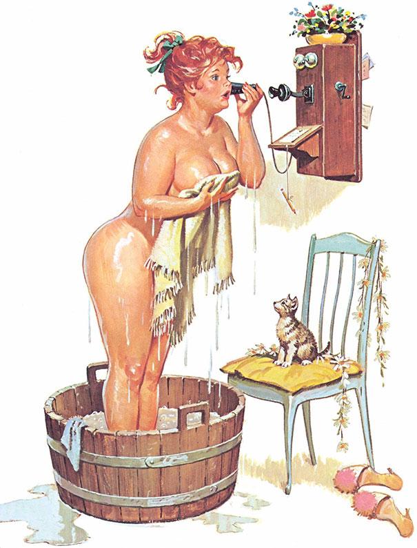 plus size pinup girl hilda duane bryers 15 58a1771b9bc42  605 - '플러스 사이즈'의 매력을 보여주는 일러스트 (사진 15장)