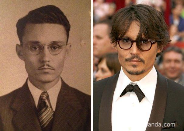 Meu bisavô parece apenas Johnny Depp