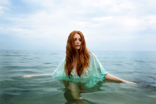 Alisha From Odessa, Ukraine In The Black Sea