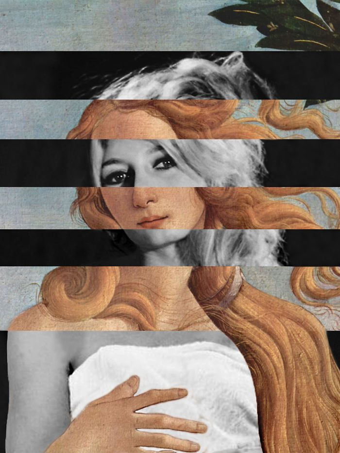 "Botticelli's ""venus"" And Brigitte Bardot"