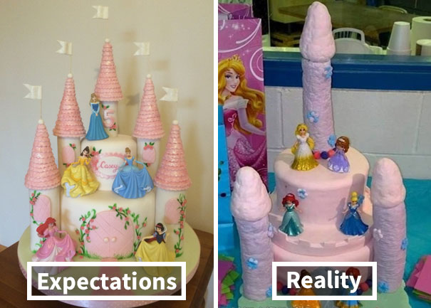 Easter Cakes Gone Wrong