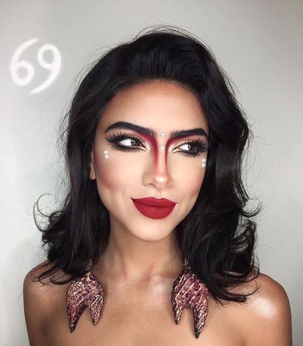 makeup artist zodiac signs setareh hosseini 4 58f715346093d  700 - 12 Makeup Looks For Each Zodiac Sign  Which One Is The Best?